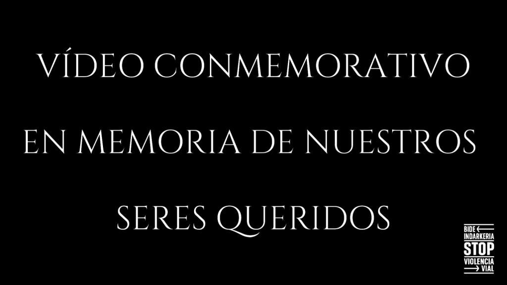 Vídeo conmemorativo